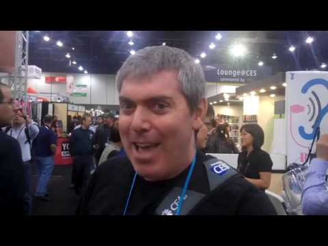 Wow, this is back in 2010 at the Consumer Electronics Show in Las Vegas!