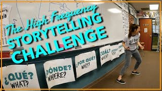 High Frequency Storytelling Challenge! Comprehensible Input & Language Acquisition Activities
