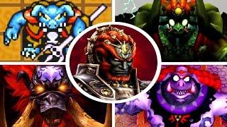 Evolution Of Ganon Battles In Zelda Games (1986 2017)