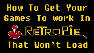 How To Get Games To Load In RetroPie On PC or Raspberry Pi!!