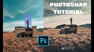 Combine 3 photos together | Photoshop Compositing Tutorial