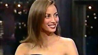 Christy Turlington - Late Night W/ David Letterman 1997