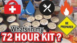 What's In My 72 Hour Kit? Emergency Preparedness!! Bug Out Bag Corona Virus