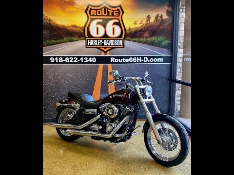 Candy Root Beer/Light Candy Root Beer 2011 Harley-Davidson Super Glide Custom FXDC