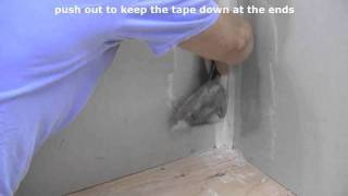 How to Finish Inside Drywall Corners