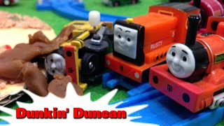 """トーマス プラレール ガチャガチャ どろんこダンカン Tomy Plarail Thomas """"Dunkin Duncan"""""""