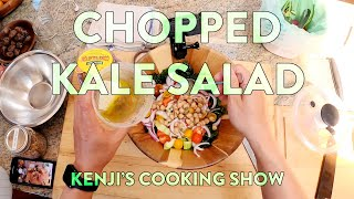 Chopped Kale Salad | Kenjis Cooking Show
