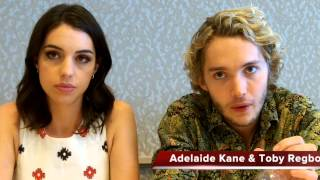 Тоби Регбо, Adelaide Kane and Toby Regbo Talk REIGN Season 2