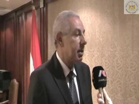 لقاء الوزير/طارق قابيل مع وفد لشركة صينية لإنشاء منطقة صناعية متكاملة فى مصر