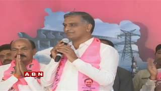 Zaheerabad Congress and BJP leaders join TRS  Minister Harish Rao