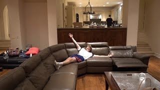 FAZE HOUSE FINALLY HAS FURNITURE
