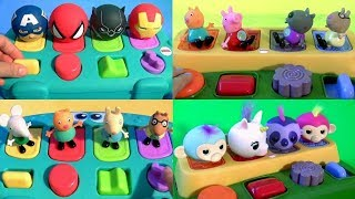 Pop Up Toys Surprise Nickelodeon Peppa Pig Baby Mickey Mouse Clubhouse