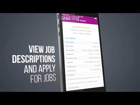 Job Search Engine App For Iphone & Android Review