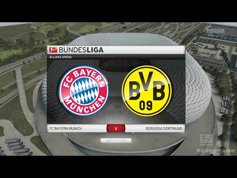 FIFA 16 Gameplay – FC Bayern Munich VS Borussia Dortmund – Bundesliga Full Game [ HD ]