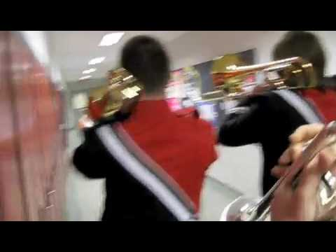 School band played The Final Countdown during school hours