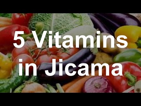 Video 5 Vitamins in Jicama