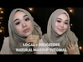 Local Drugstore Natural Makeup Tutorial Bahasa Indonesia MakeupbyFatya