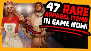 Fallout 76 | 47 RARE APPAREL Items Currently in Game!