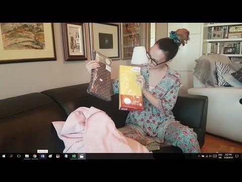 Art shop unboxing (kupila sam posteljine, jastučnice, jastuke, plahte, ručnike...)