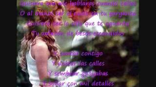 Quisiera-Juan luis guerra + lyrics (Paloma et Diego)