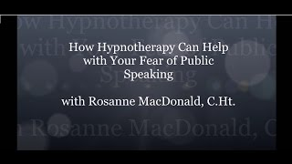 HypnoVitality®   How Hypnotherapy Can Help Your Fear of Public Speaking