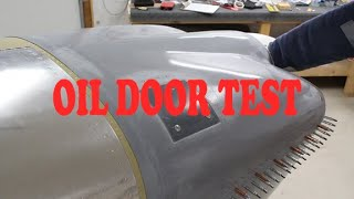 RV Aircraft Video - Oil Door Test Movie