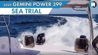 The 2020 Gemini 399 Power Catamaran on a Trial Run - Fort Lauderdale, FL