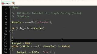 PHP Caching / Cache Tutorial (16)