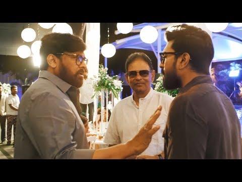 Allu Arjun Brother Allu Bobby's Wedding Reception Full Video