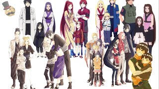 Naruto: character's family collection (real & fanart)