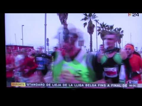 Imágenes TV3 de la 3a Sansi de Mataró