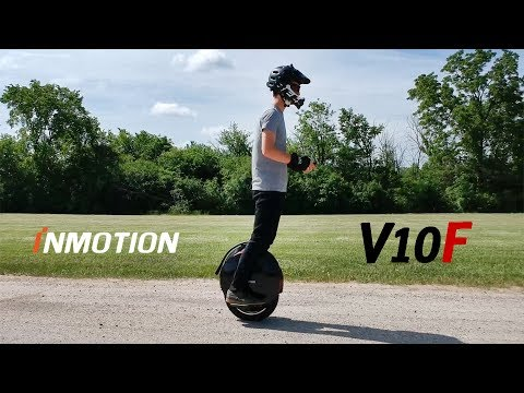 Inmotion V10F Electric Unicycle: First 100 Miles – POV Riding Impressions