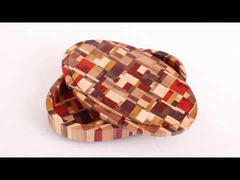 Kundentutorial:  eindrucksvolle Schmuckschatulle / Schmuckdose aus Holz fräsen