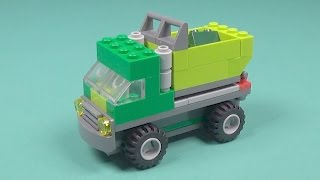 Lego Garbage Truck Building Instructions - Lego Classic 10704 How To