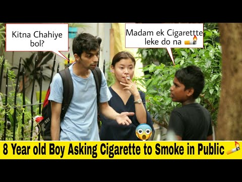 10 YEAR OLD BOY Asking For Cigarette🚬 | SOCIAL EXPERIMENT | Pranks in India