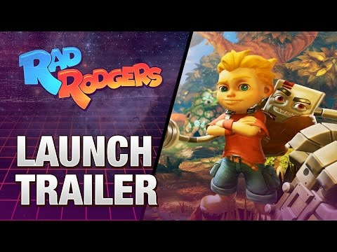 Rad Rodgers: World One - Launch Trailer thumbnail