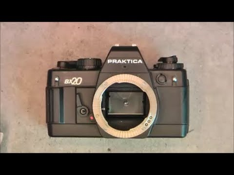 East german made camera teardown: Praktica BX20