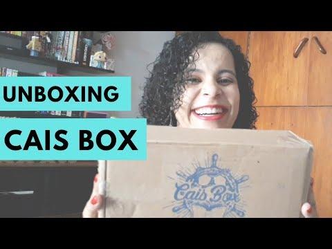 UNBOXING: CAIS BOX - DEZEMBRO   VLOGMAS #27   Livraneios