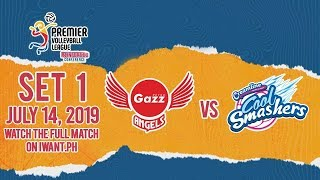 SET 1 | Petro Gazz Vs. Cool Smashers | July 14, 2019 (Watch The Full Game On IWant.ph)