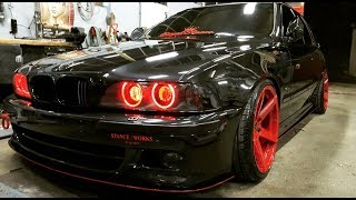 Tuning BMW E39 530d Touring Red Devil