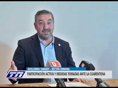 Guillermo Tamarit - rector Unnoba