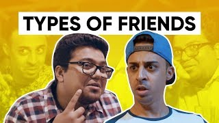 Types Of Friends | Jordindian | Friendship Day