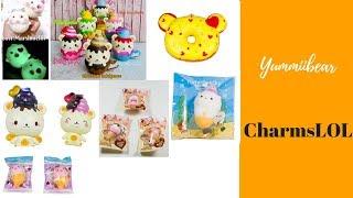 All Our Yummiibear Squishies! Creamiicandy x Puni Maru | CharmsLOL