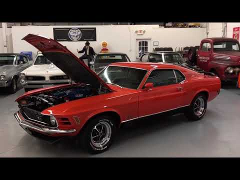 Video of '70 Mustang Mach 1 - P9XD