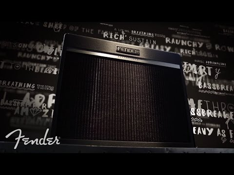 FENDER Bassbreaker 45 Head Kytarový lampový zesilovač