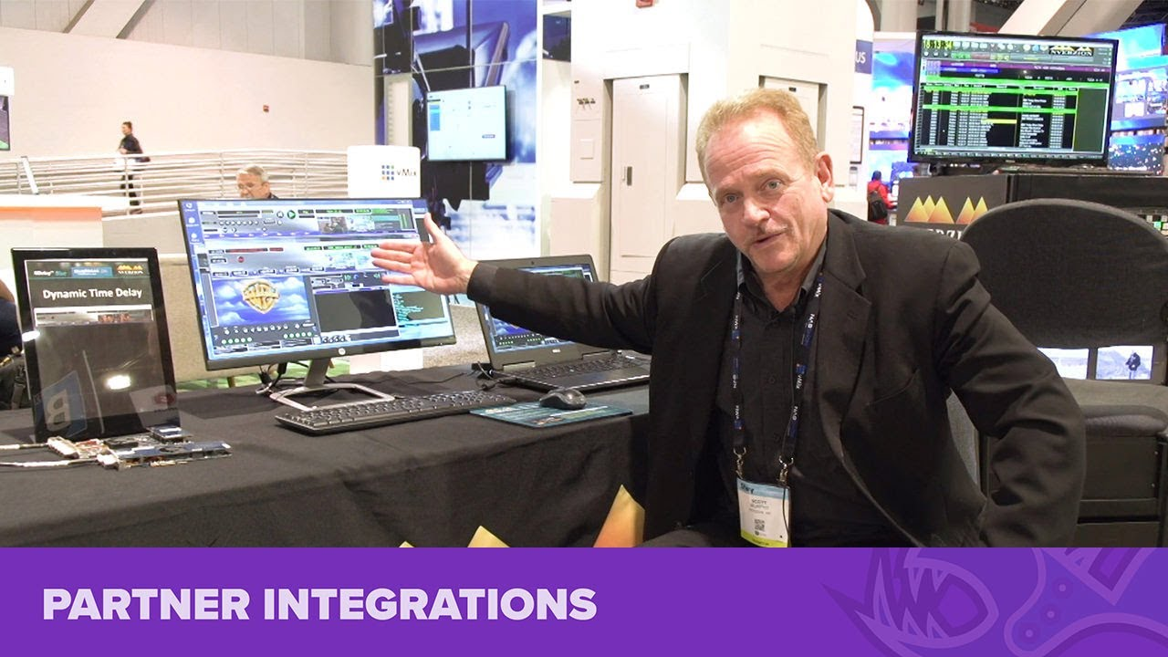 Bluefish444 with Nverzion at NAB Show 2019