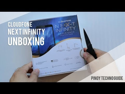 Cloudfone Next Infinity Unboxing
