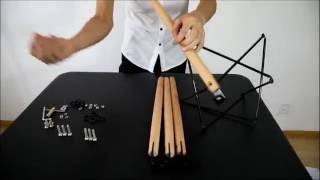 Vecelo eames chair Assembly Instruction