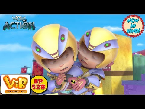 Vir: The Robot Boy   Vir vs Dangerous seven part 2   As Seen On HungamaTV   WowKidz Action