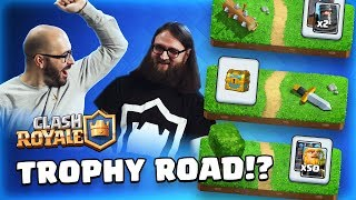 Clash Royale: APRIL UPDATE! 🏆 Trophy Road 💥 New Card ⚔️ New Game Modes 👊 TV Royale!
